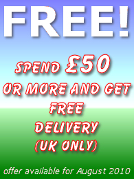 Spend £50 or more & get FREE delivery