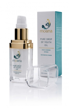 Moana Natural Organic Pure Drop of Youth Restorative Oil - 15 ml pump