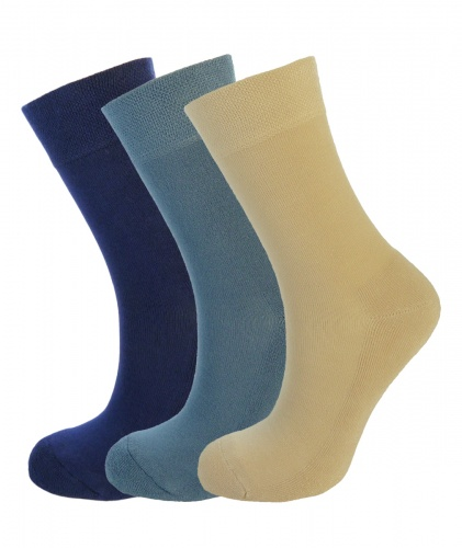 Bamboo socks - Size 4-7 High Performance (3 multi colour pack) - Luxurious soft & antibacterial bamboo