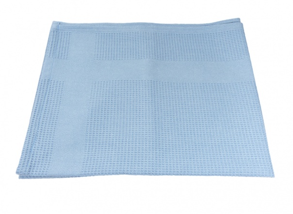 GBPro Blue Extra Large Dry Finishing microfibre cloth (70x50cm) lint free for Glass, Smooth surface