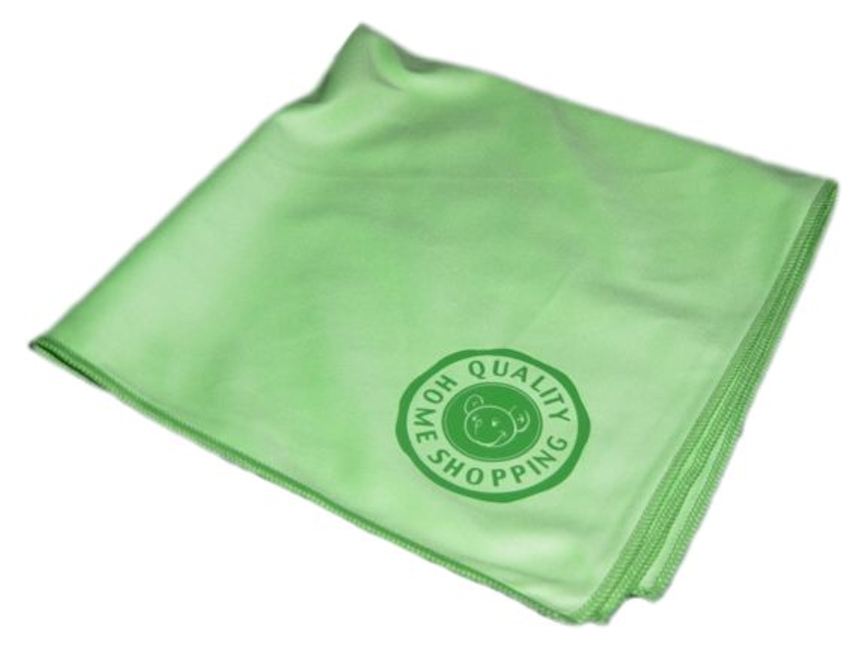 Gbpro eco premium microfibre glass window finishing for Glass cleaning towels