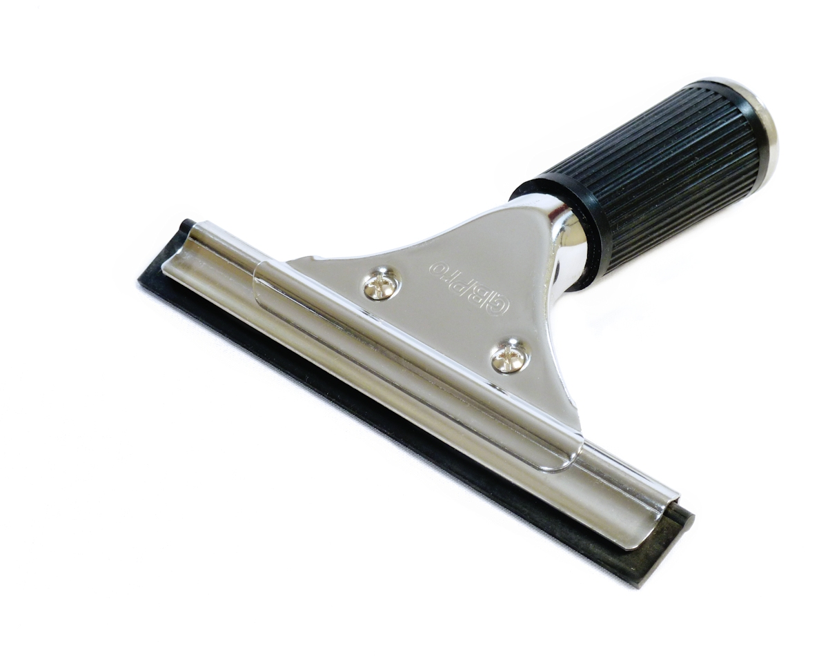 Gbpro Window Squeegee Stainless Steel Wiper With Blade 6