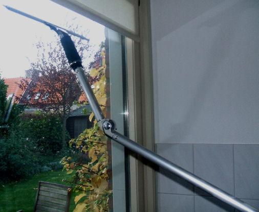 Telescopic Rod 120cm For Window Wiper Green Bear