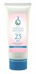 Caribbean Blue - Natural Baby Sunshield - SPF25 (120ml) - Sunscreen (UVA & UVB protection)