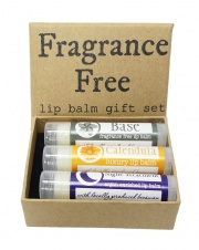 Fragrance FREE Lip Balm Collection - Made in the UK