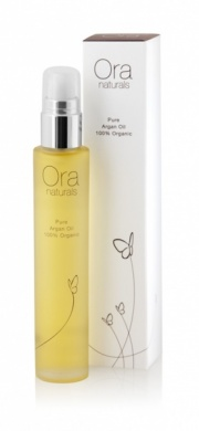 ORA Natural & Certified Organic Pure ARGAN Oil (antioxidants and Vitamin E for anti-ageing) - 25m