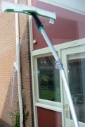 GBPro Telescopic window cleaning rod/pole 400cm (157.8''/13.ft+)