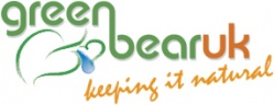 green bear logo naturally eco green