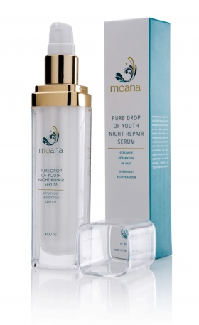 Moana Natural Organic Pure Drop of Youth Night Repair Serum - 30ml