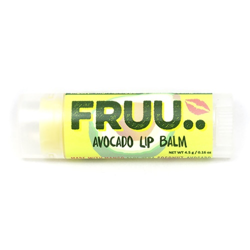 Fruu.. Organic Avocado lip balm - Scent free and allergen free - Made in the UK