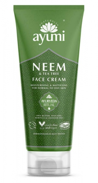 Ayumi Neem & Tea Tree Face Cream 1 x 100ml