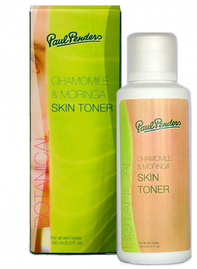 Paul Penders - Natural Chamomile & Moringa Skin Toner 120ml - vegan, alcohol free