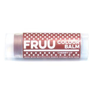 Fruu.. Organic Cherry Up Colour balm - Scent and allergen free - Made in the UK