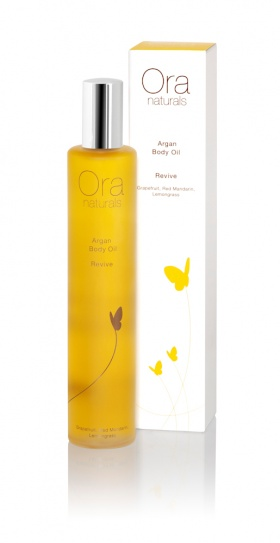 ORA Natural & Organic Argan Body Oil Revive - 100ml