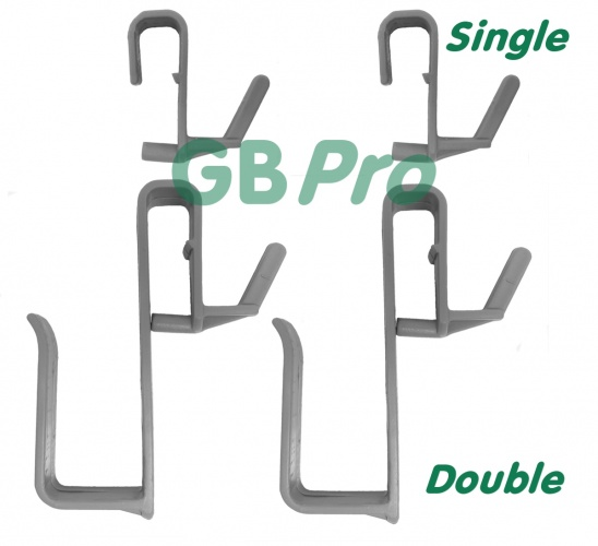 GBPro bucket hangers (2 x single + 2 x Large double) for GBPro window bucket