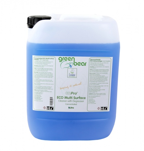 GBPro Eco Multi surface cleaner + degreaser(concentrated) 10L - with ECOLABEL