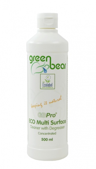 GBPro Eco Friendly Multi surface cleaner + degreaser(concentrated) 500m - with ECOLABEL