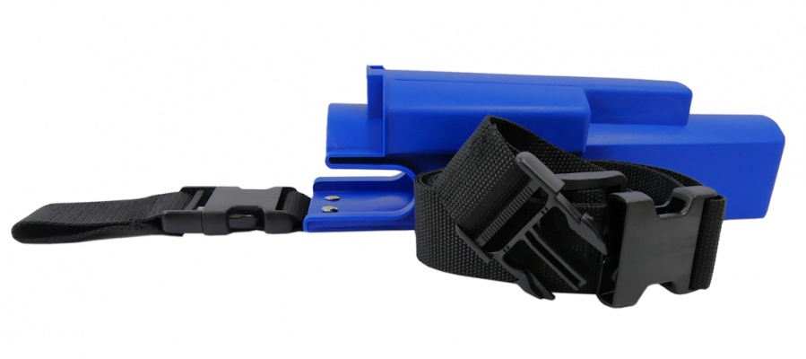 GBPro Window cleaning Multi purpose wiper/squeegee Holster/hip bucket - Plus snapon waist belt