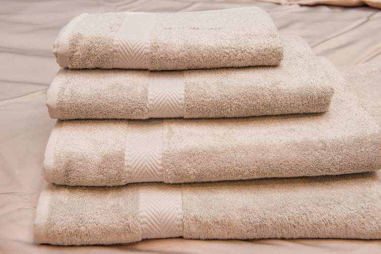 Green Bear Luxurious Bamboo Hand/Bath/Sheet/Hair Towel - Naturally Hypoallergenic and Antibacterial - TAUPE