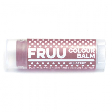 Fruu.. Organic Mulberry Colour balm - Scent and allergen free - Made in the UK