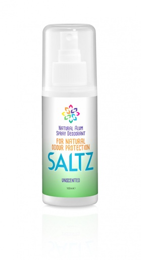SALTZ Crystal Alum 100% Natural Organic Deodorant Spray - 100ml