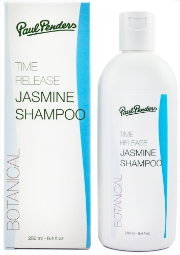Paul Penders Natural Jasmine Shampoo 250ml - Free from Sulphates (SLS) - for sensitive scalp, psoriasis, ezcema …