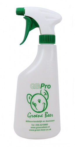 GBPro Trigger Spray bottle/dispenser/container 600ml (+ % dilution markings)