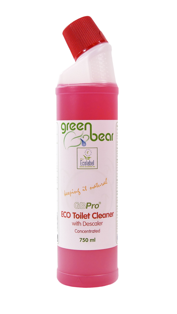 Gbpro Eco Toilet Cleaner With Descaler 750ml Green Bear