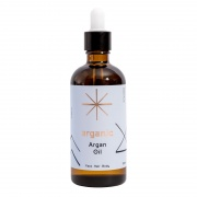 Organic Pure ARGAN Oil (antioxidants and Vitamin E for anti-ageing) - 100ml