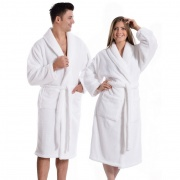 Elegance Luxurious Unisex bamboo bath robe