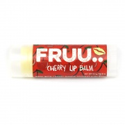 Fruu.. Organic Cherry lip balm - Scent and allergen free - Made in the UK