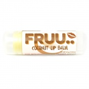 Fruu.. Organic Coconut lip balm - Scent and allergen free - Made in the UK
