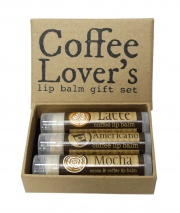 Coffee Lover's Lip Balm Collection - Made in the UK