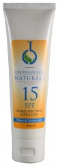 Caribbean Blue - Natural Sunshield Sport - SPF15 (100ml) - Sunscreen (UVA & UVB protection)