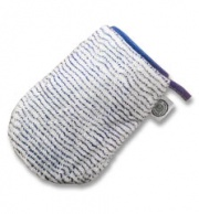 microfibre exfoliating wash cloth/glove