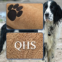 Professional Microfibre pet / dog towel - super absorbent & Extra Large 140 x 170cm