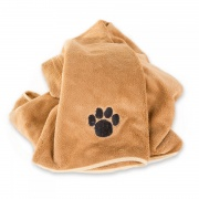 Professional Microfibre pet / dog Blanket - super absorbent & XLarge 90 x 120cm